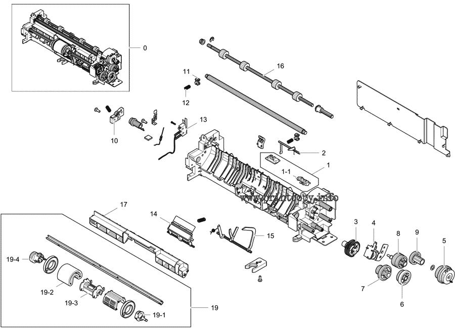 Parts Catalog > Samsung > CLX3305FW > page 7