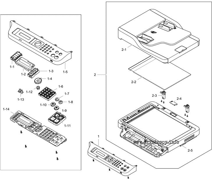 Parts Catalog > Samsung > CLX3305FW > page 9