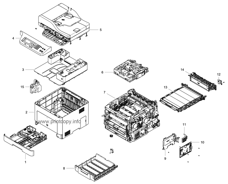 Parts Catalog > Samsung > CLX6260FR > page 1
