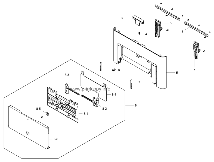 Parts Catalog > Samsung > CLX6260FR > page 3
