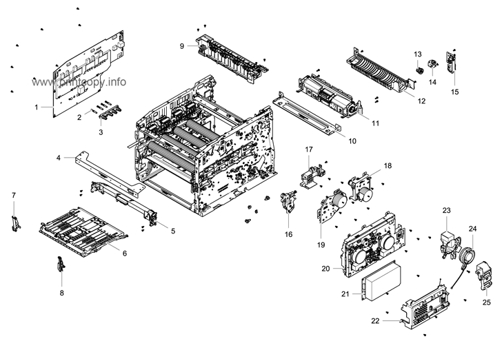 Parts Catalog > Samsung > CLX6260FR > page 15