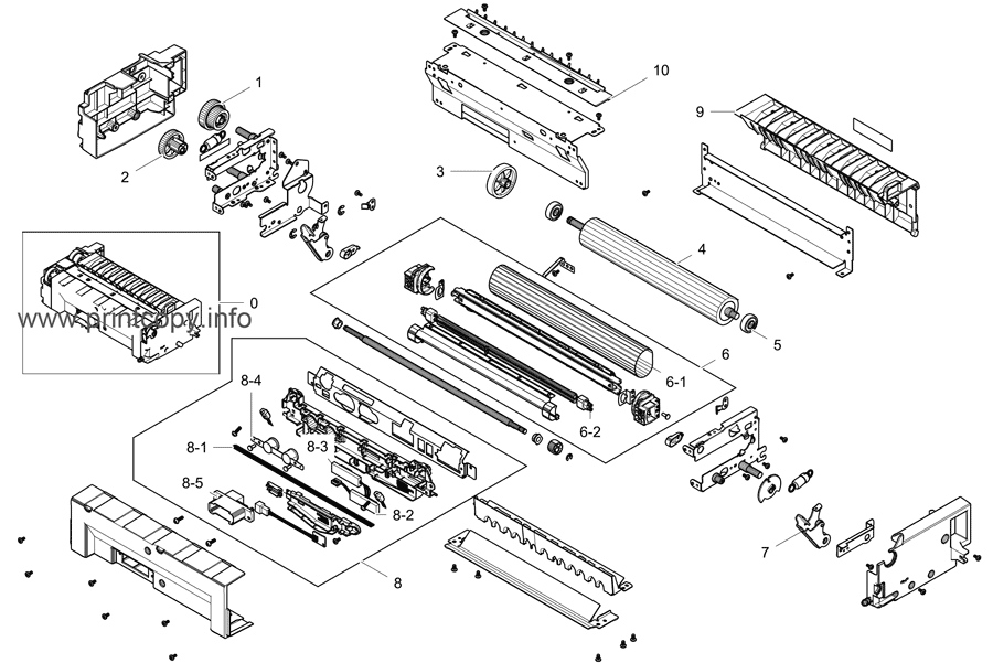 Parts Catalog > Samsung > CLX8640ND > page 5