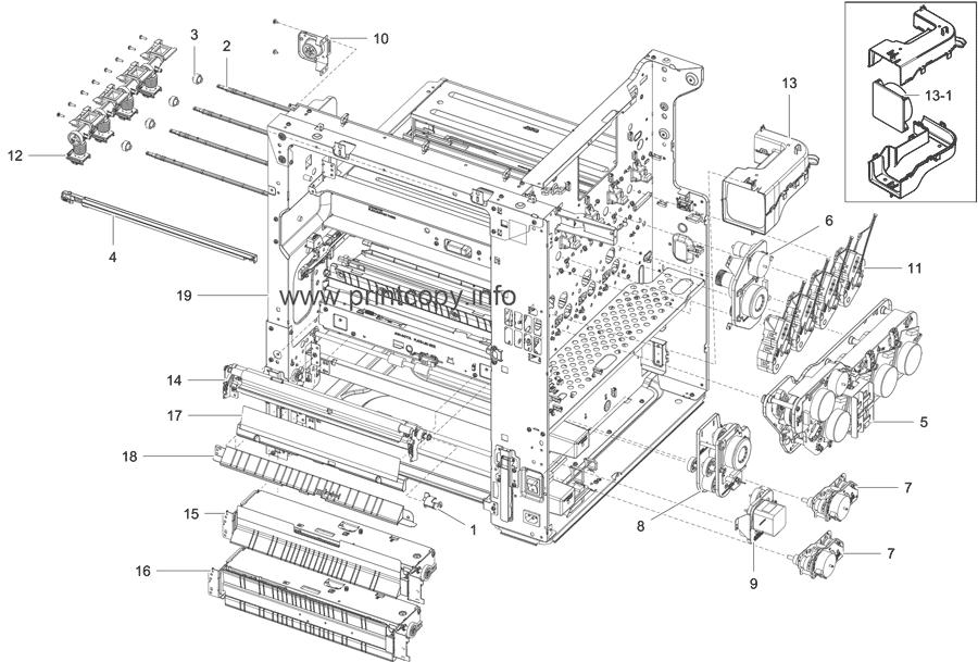 Parts Catalog > Samsung > CLX9251NA > page 6