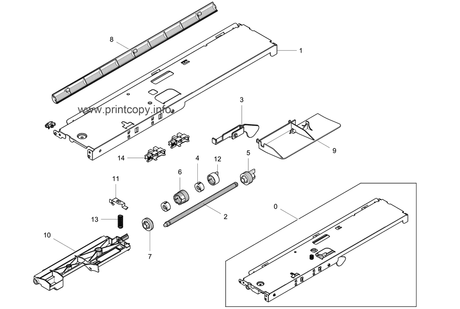 Parts Catalog > Samsung > CLX9201NA > page 13