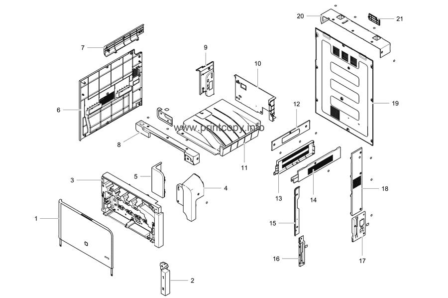 Parts Catalog > Samsung > CLX9201NA > page 15