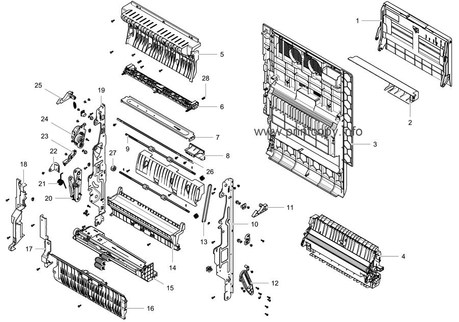 Parts Catalog > Samsung > CLX9201NA > page 16