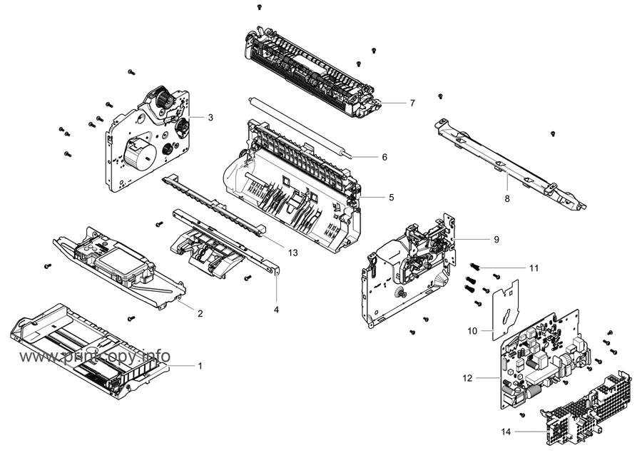 Parts Catalog > Samsung > Xpress M2070 > page 5
