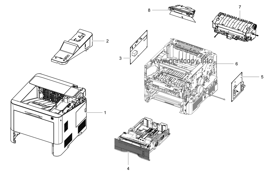 Parts Catalog > Samsung > ML4510ND > page 1