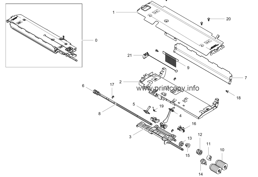 Parts Catalog > Samsung > ML5510ND > page 15
