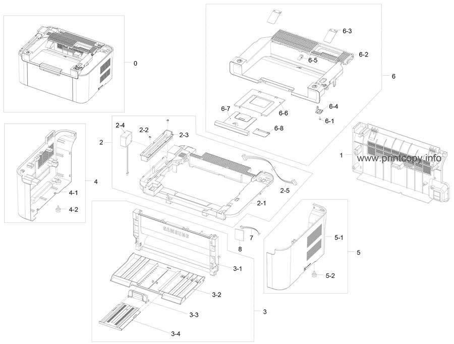 Parts Catalog > Samsung > SCX3200 > page 2