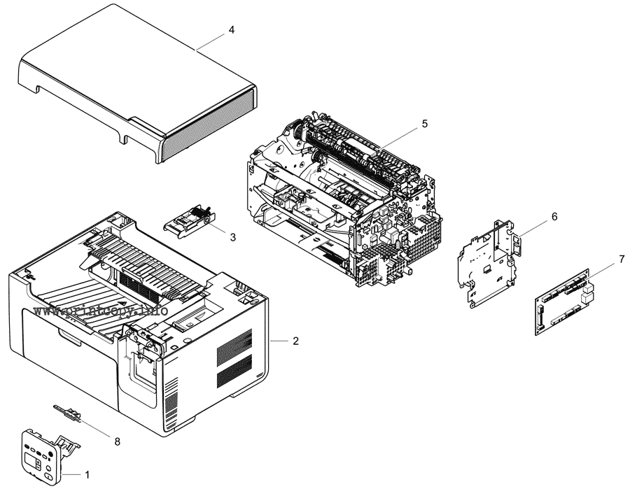 Parts Catalog > Samsung > SCX3400 > page 1