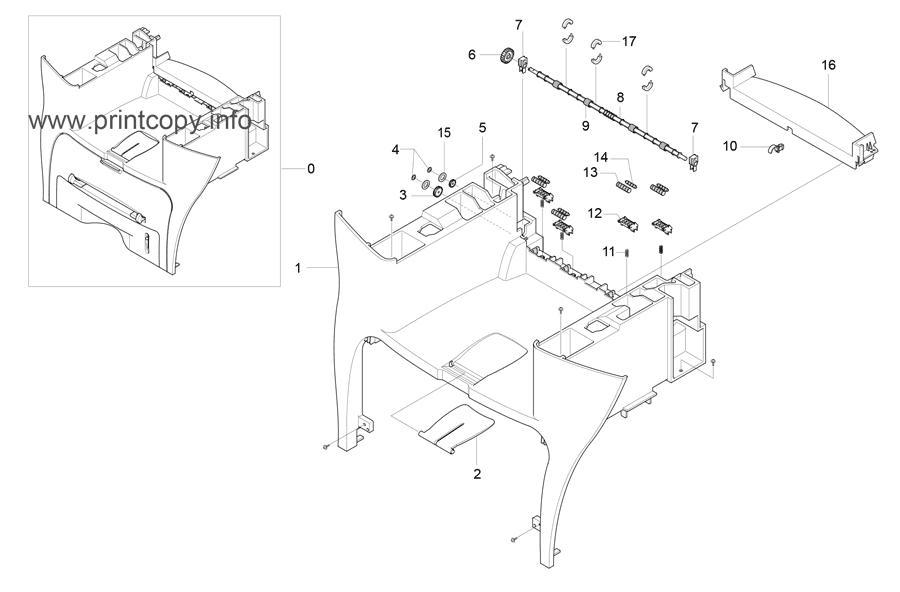 Parts Catalog > Samsung > SCX4216F > page 8