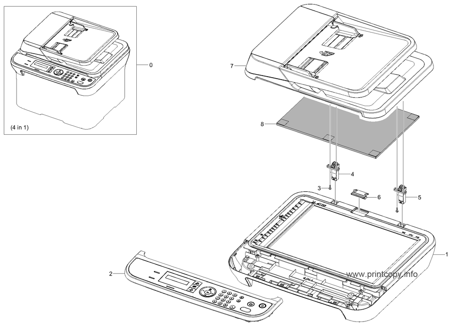Parts Catalog > Samsung > SCX4623F > page 12