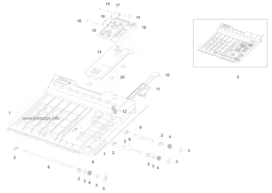 Parts Catalog > Samsung > SCX4835FD > page 10