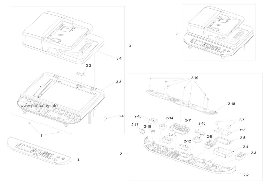 Parts Catalog > Samsung > SCX5637HR > page 13