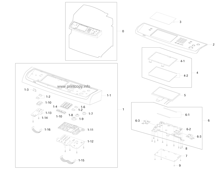 Parts Catalog > Samsung > SCX6545NX > page 14