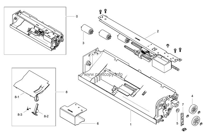 Parts Catalog > Samsung > SCX8123ND > page 16