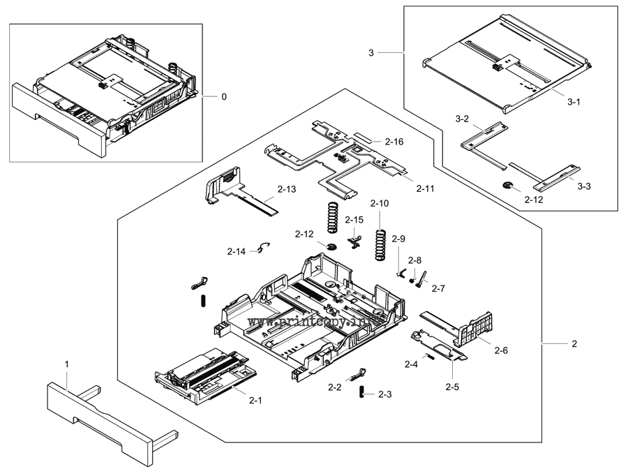 Parts Catalog > Samsung > Xpress C1860FW > page 6