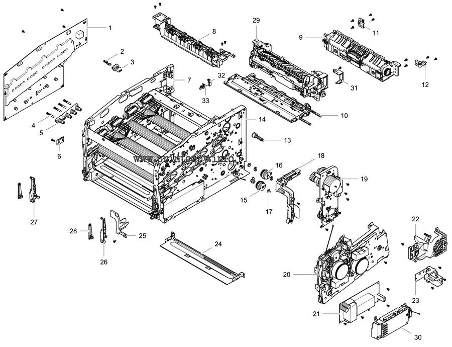 Parts Catalog > Samsung > Xpress C1860FW > page 10