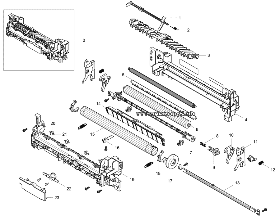 Parts Catalog > Samsung > Xpress C1860FW > page 11