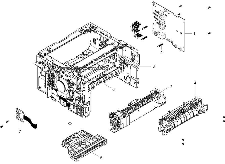 Parts Catalog > Samsung > Xpress C480 > page 5