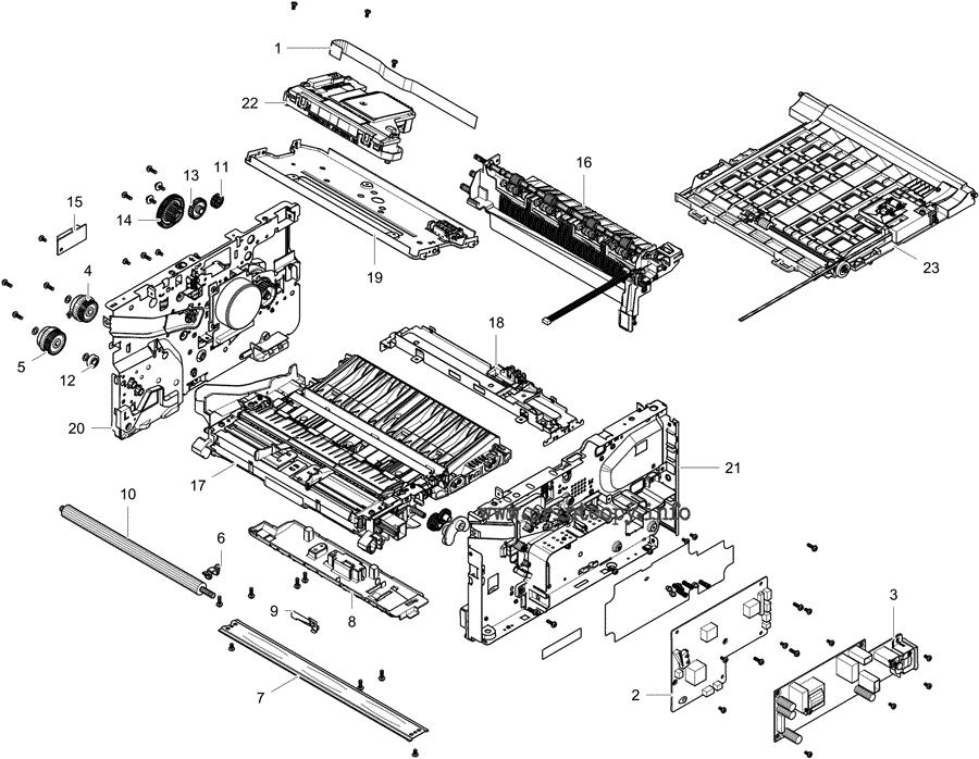 Parts Catalog > Samsung > SLM2835DW > page 4