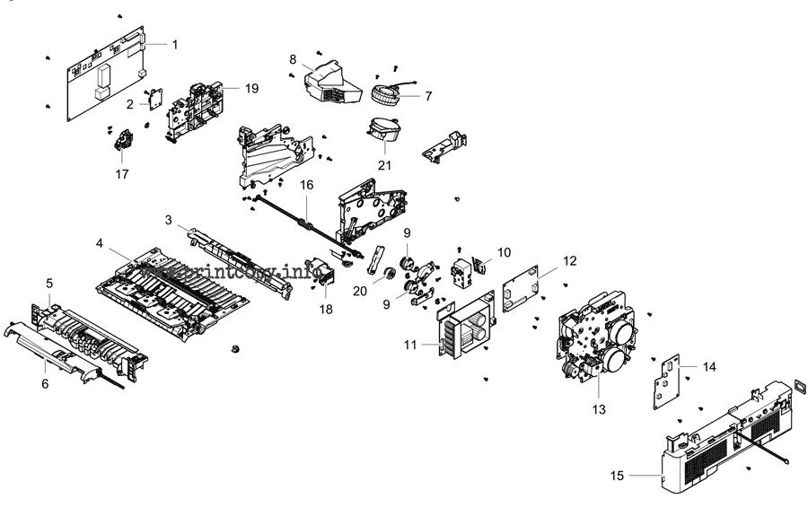 Parts Catalog > Samsung > ProXpress M4580FX > page 11