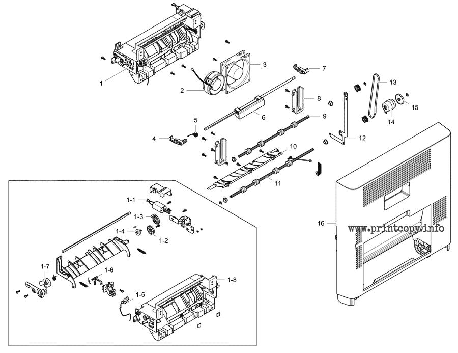 Parts Catalog > Samsung > MultiXpress M5360RX > page 4
