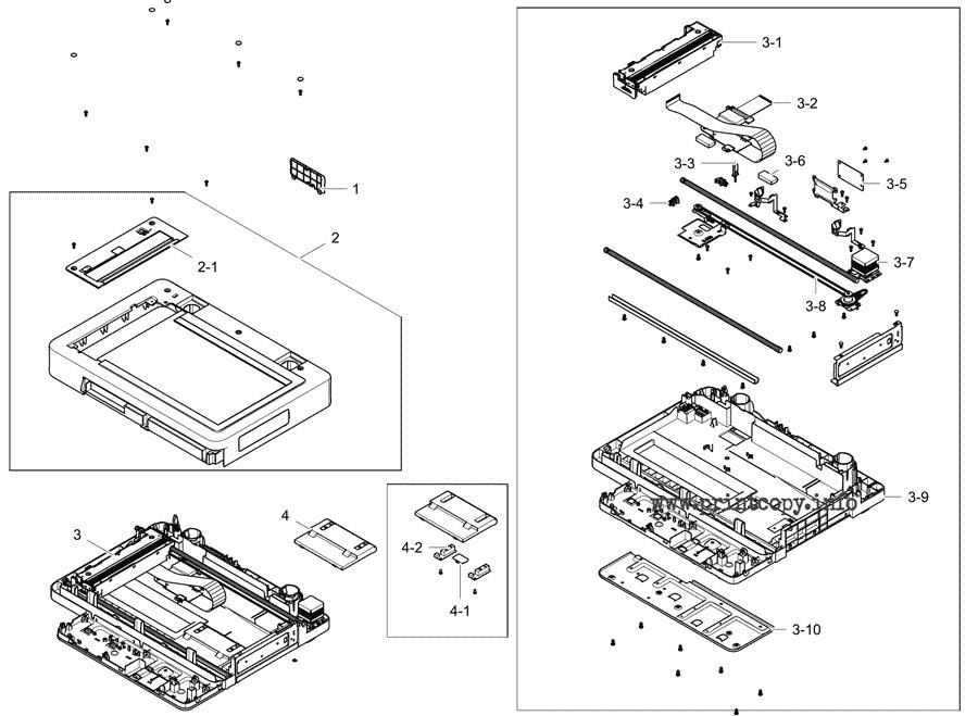 Parts Catalog > Samsung > MultiXpress M5360RX > page 17