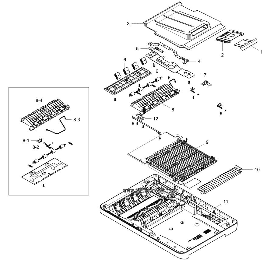 Parts Catalog > Samsung > MultiXpress M5360 > page 23