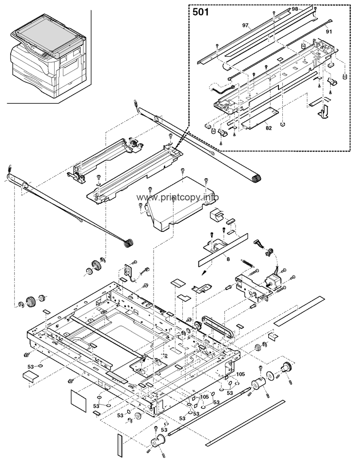 Parts Catalog > Sharp > AR5316 > page 3
