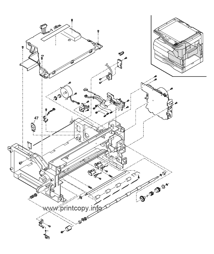 Parts Catalog > Sharp > AR5316 > page 4