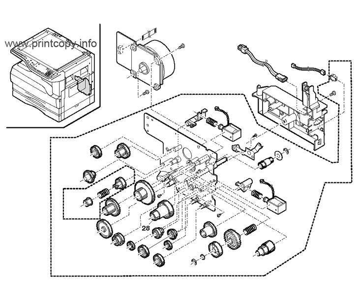 Parts Catalog > Sharp > AR5316 > page 5