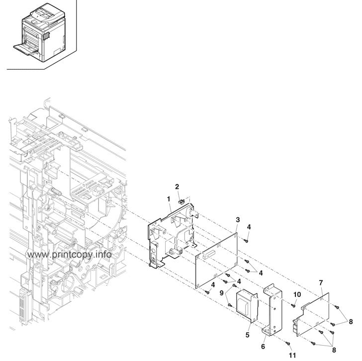 Parts Catalog > Sharp > MX3110N > page 63