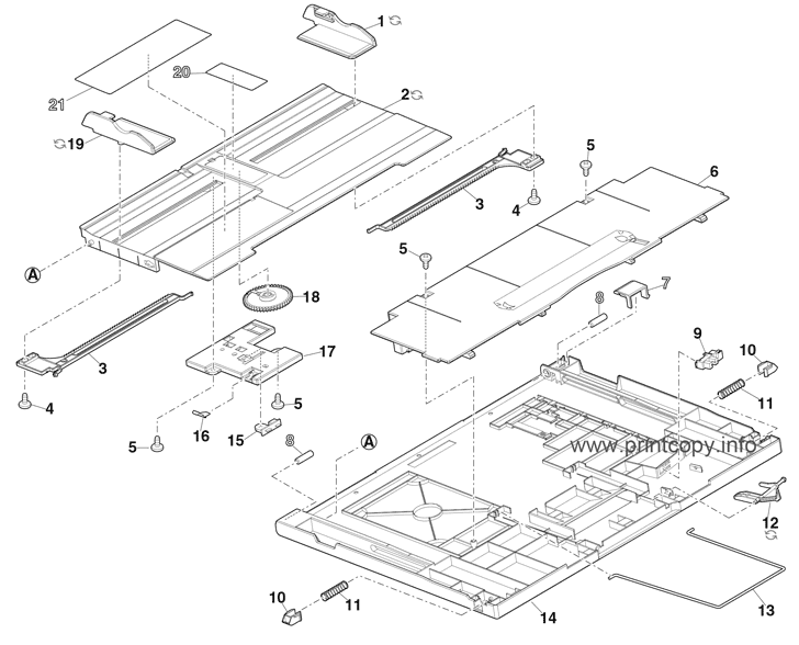 Parts Catalog > Sharp > MX4170FN > page 30