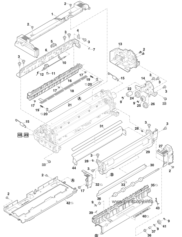 Parts Catalog > Sharp > MX5070N > page 47