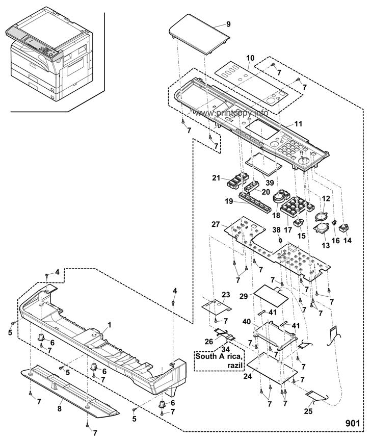 Parts Catalog > Sharp > MXM232D > page 2