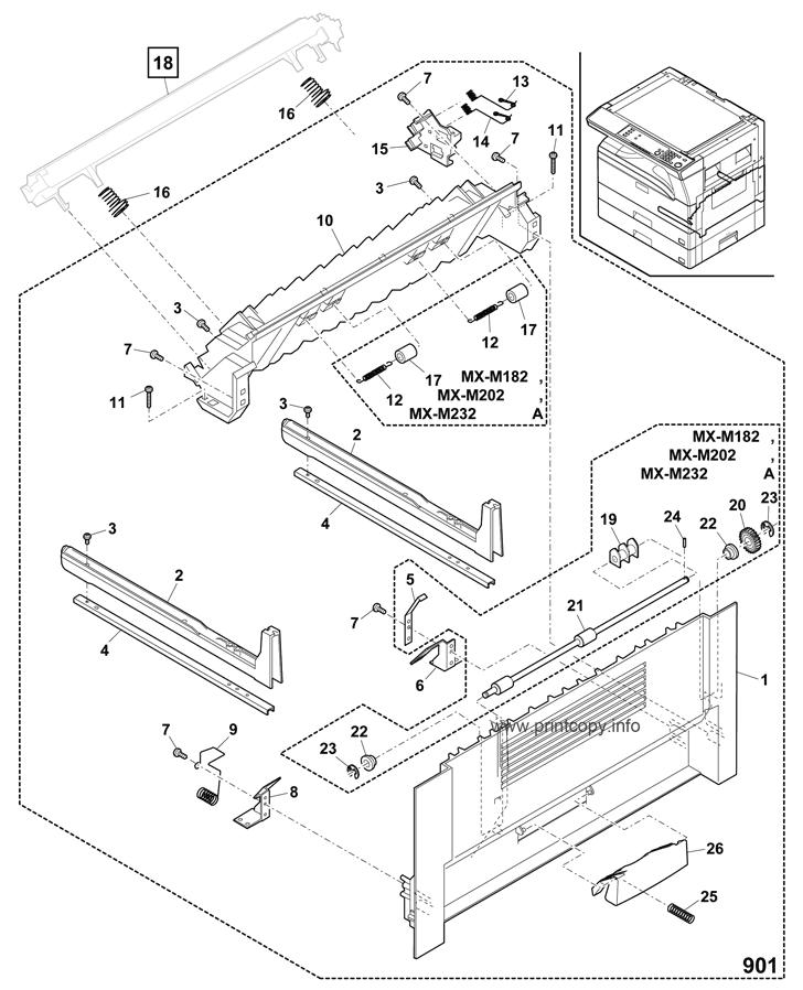 Parts Catalog > Sharp > MXM232D > page 3