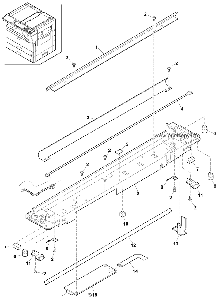 Parts Catalog > Sharp > MXM232D > page 6