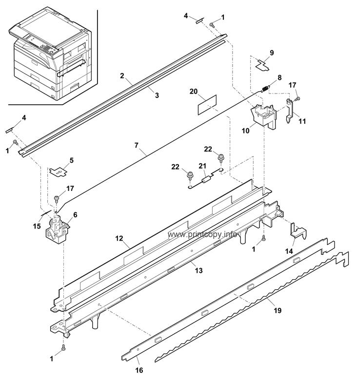 Parts Catalog > Sharp > MXM232D > page 18