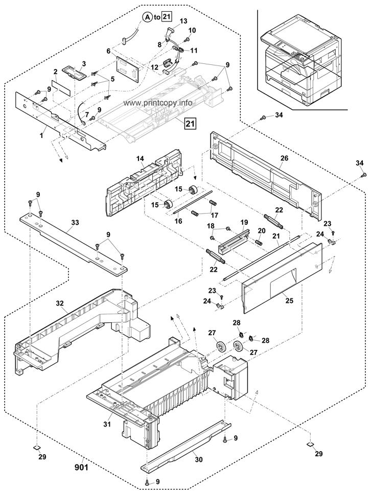 Parts Catalog > Sharp > MXM232D > page 20