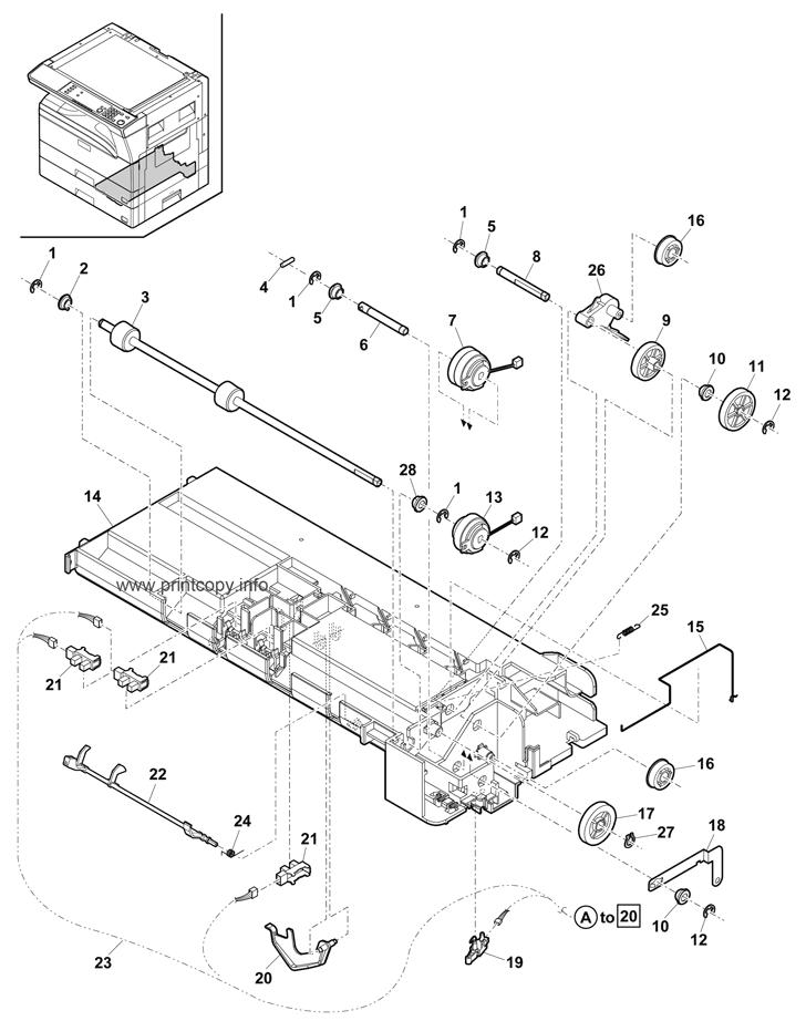 Parts Catalog > Sharp > MXM232D > page 21
