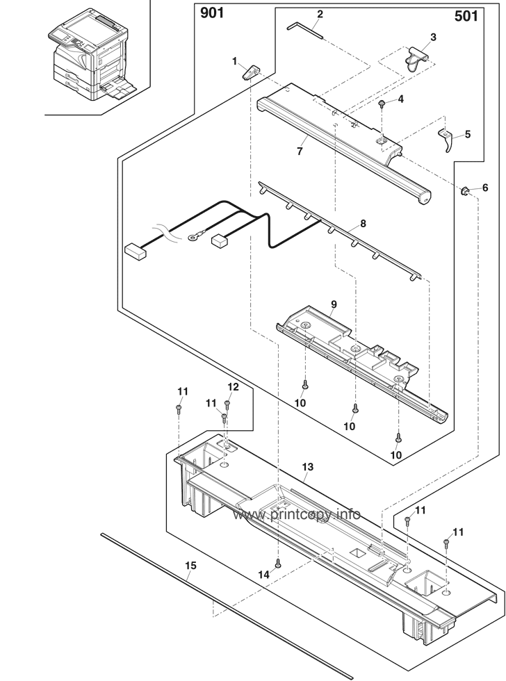Parts Catalog > Sharp > MXM264N > page 4