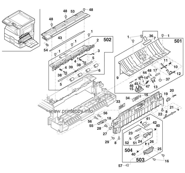 Parts Catalog > Sharp > MXM264N > page 11