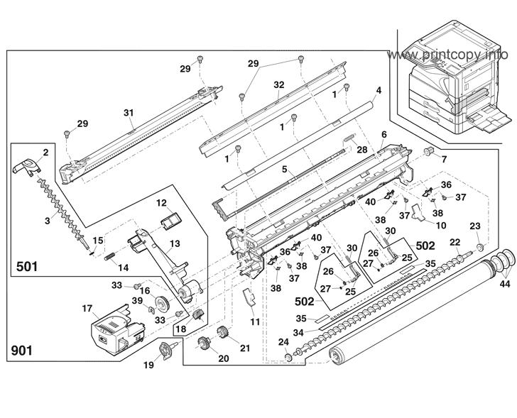 Parts Catalog > Sharp > MXM264N > page 16