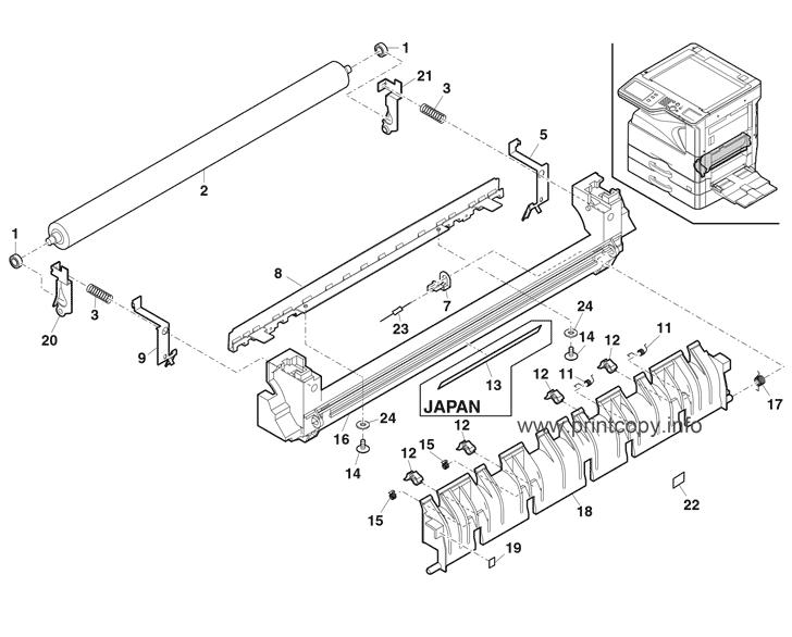 Parts Catalog > Sharp > MXM264N > page 18
