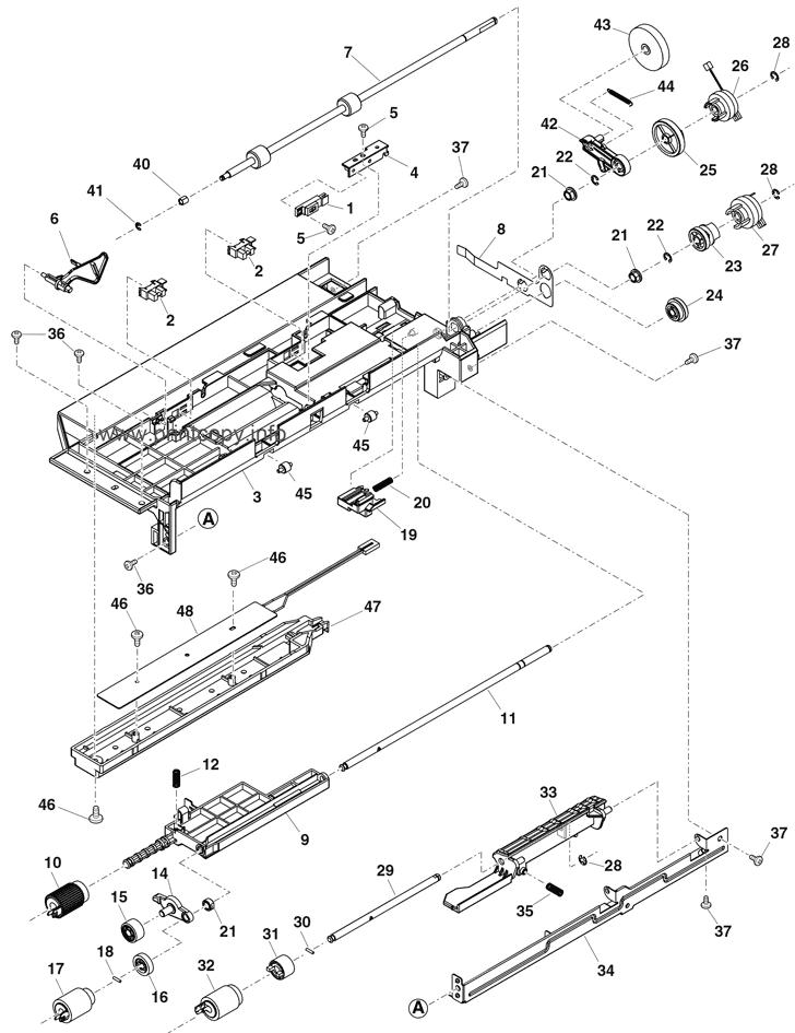 Parts Catalog > Sharp > MXM266N > page 25