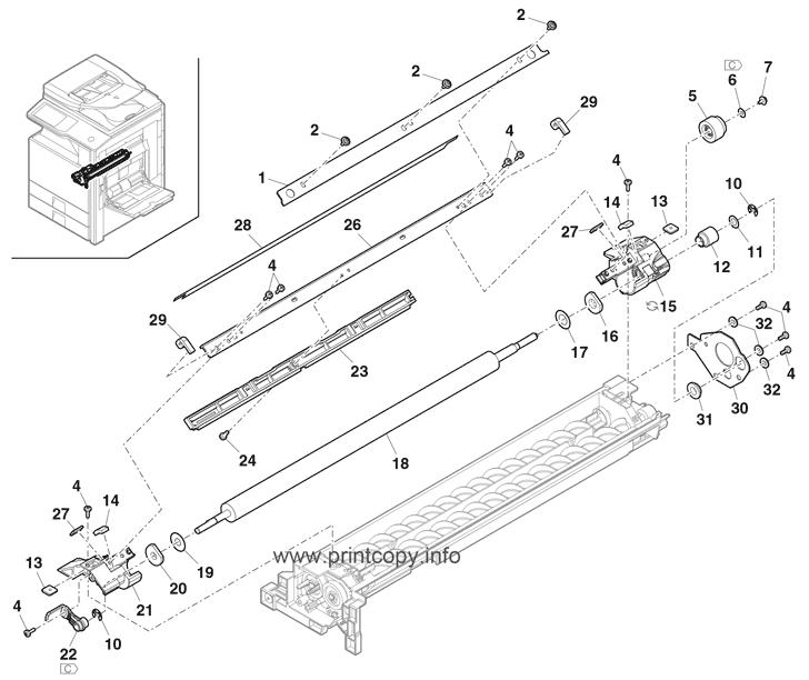 Parts Catalog > Sharp > MXM283N > page 21