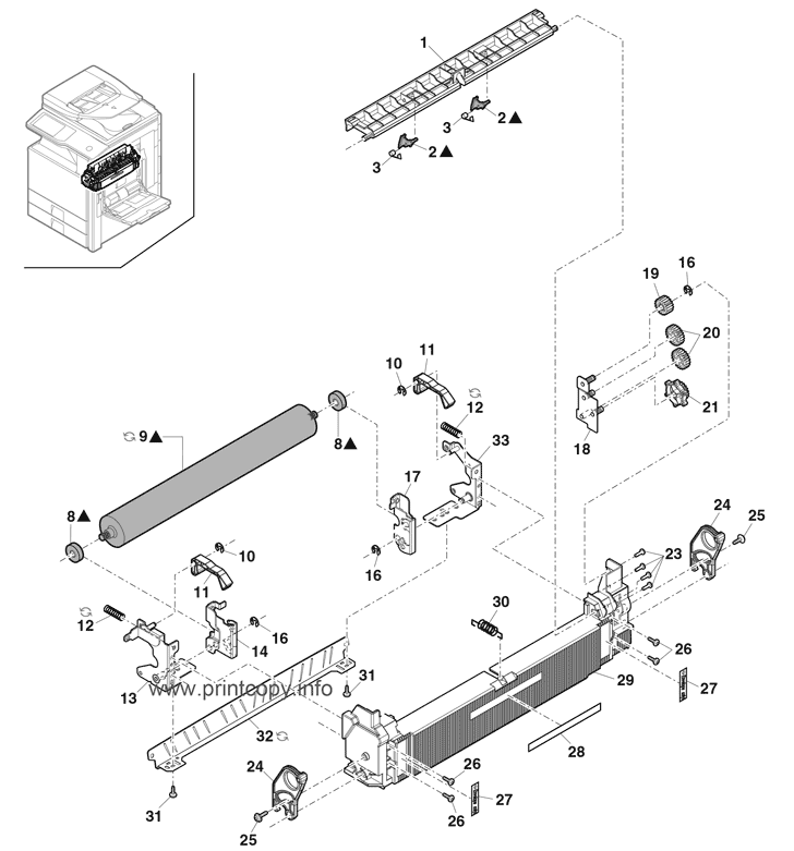Parts Catalog > Sharp > MXM503N > page 27