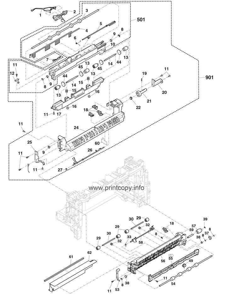 Parts Catalog > Sharp > MXM365N > page 49